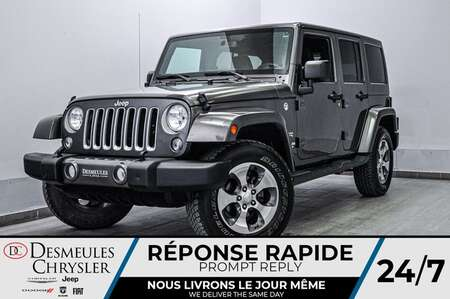 2016 Jeep Wrangler Unlimited 4WD * BLUETOOTH * GPS * CAM RECUL for Sale  - DC-20032A  - Blainville Chrysler