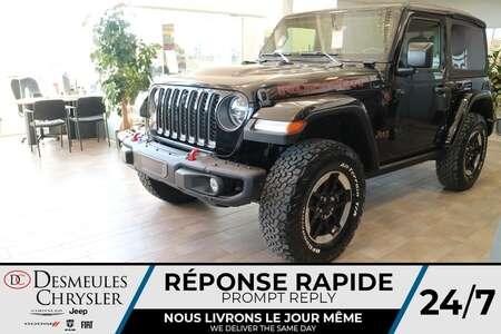 2021 Jeep Wrangler Rubicon 4X4 * UCONNECT 8.4 PO * NAVIGATION * CAM for Sale  - DC-21692  - Desmeules Chrysler