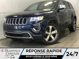 2015 Jeep Grand Cherokee LIMITED * TOIT OUVRANT * NAVIGATION * CUIR *  - BC-21632A  - Desmeules Chrysler