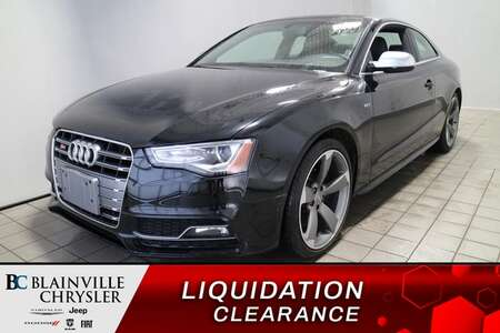 2015 Audi S5 Technik * NAVIGATION * CAM RECUL * TOIT OUVRANT * for Sale  - BC-S1925  - Desmeules Chrysler
