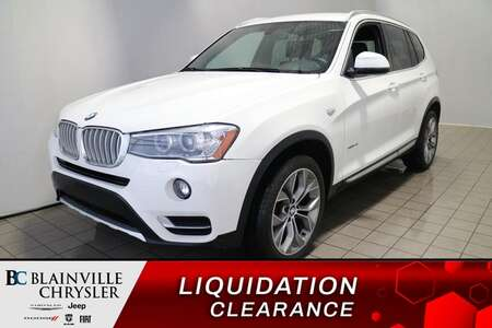 2017 BMW X3 XDRIVE28I * BLUETOOTH * CAMERA DE RECUL * for Sale  - BC-D1830  - Blainville Chrysler