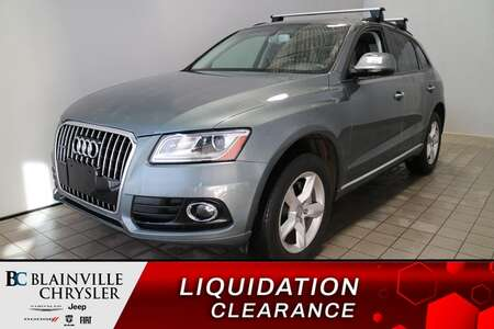 2017 Audi Q5 Premium * SIEGES CHAUFFANTS * TOIT PANO * for Sale  - BC-S1944  - Desmeules Chrysler