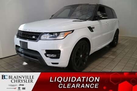 2016 Land Rover Range Rover V8 SUPERCHARGED * GPS * CAM RECUL 360 * TOIT PANO for Sale  - BC-S1938  - Blainville Chrysler