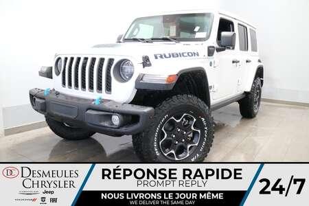 2021 Jeep Wrangler Unlimited Rubicon4XE HYBRID * NAV * UCONNECT 8.4PO for Sale  - DC-21562  - Desmeules Chrysler