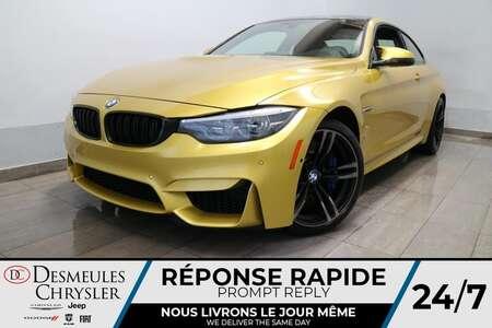 2018 BMW M4 COUPE IM MANUELLE * NAV * CAMERA DE RECUL * CUIR * for Sale  - DC-S2601  - Desmeules Chrysler