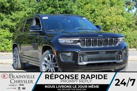 2021 Jeep Grand Cherokee L Overland V6 *  7 PASSAGERS * CUIR VENTILLÉ * for Sale  - BC-21645  - Desmeules Chrysler