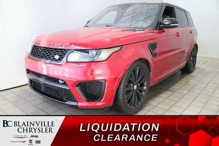 2016 Land Rover Range Rover V8 SVR * GPS * TOIT PANO * PARALLELE PARK * for Sale  - BC-S1911  - Blainville Chrysler