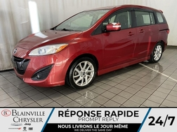 2014 Mazda Mazda5 GT * TOIT OUVRANT * CUIR CHAUFFANT * BLUETOOTH *  - BC-M1909  - Blainville Chrysler