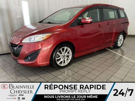 2014 Mazda Mazda5 Grand Touring * TOIT OUVRANT * SIEGES CHAUFFANTS * for Sale  - BC-M1909  - Desmeules Chrysler