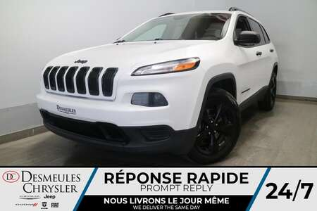 2016 Jeep Cherokee 4WD * CAMERA DE RECUL * UCONNECT * CRUISE * for Sale  - DC-S2731  - Blainville Chrysler