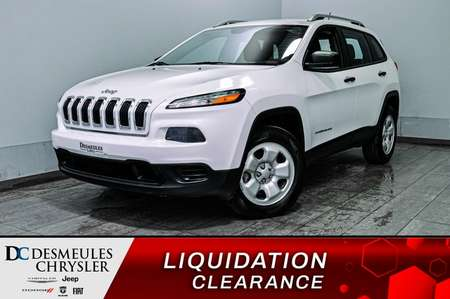 2015 Jeep Cherokee Sport + a/c + bluetooth + camera de recul for Sale  - DC-B1953A  - Blainville Chrysler