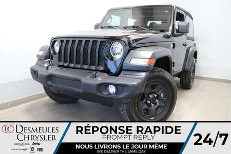 2019 Jeep Wrangler Sport 4X4 * UCONNECT * CAMERA DE RECUL * CRUISE * for Sale  - DC-R2735  - Desmeules Chrysler