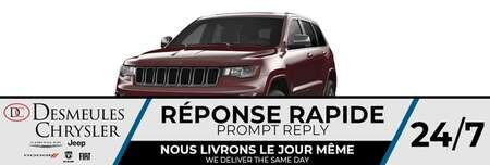2021 Jeep Grand Cherokee 80th Anniversary  * UCONNECT 8.4 PO * for Sale  - DC-C820706  - Blainville Chrysler