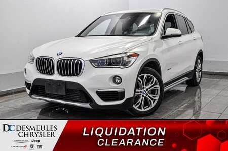 2016 BMW X1 xDrive28i AWD * CAM RECUL * TOIT PANO  * SPORT/ECO for Sale  - DC-S2254  - Desmeules Chrysler
