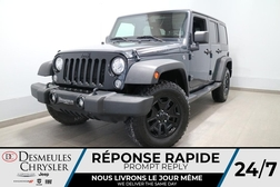 2018 Jeep Wrangler UNLIMITED WILLYS 4X4 * AIR CLIMATISE * BLUETOOTH *  - DC-R2733  - Blainville Chrysler