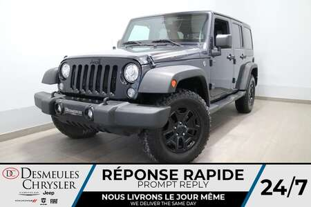 2018 Jeep Wrangler UNLIMITED WILLYS 4X4 * AIR CLIMATISE * BLUETOOTH * for Sale  - DC-R2733  - Desmeules Chrysler