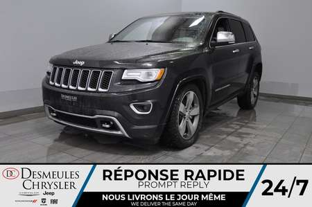 2015 Jeep Grand Cherokee Overland + bancs chauff + toit ouv + cam recul for Sale  - DC-B1572  - Desmeules Chrysler