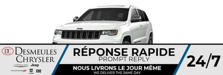 2021 Jeep Grand Cherokee 80th Anniversary * UCONNECT 8.4 PO * for Sale  - DC-C81897  - Blainville Chrysler