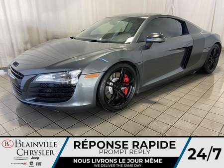 2009 Audi R8 4.2L * MANUEL * SUSPENSION NEUVE * NAV * for Sale  - BC-L1234  - Blainville Chrysler