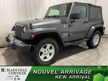 2016 Jeep Wrangler 4WD * CRUISE * A/C * TOIT MOU for Sale  - BC-21056A  - Desmeules Chrysler