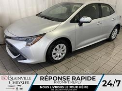 2019 Toyota Corolla Hatchback SE * AUTOMATIQUE * BLUETOOTH * A/C * GPS * CRUISE  - BC-P1627  - Desmeules Chrysler