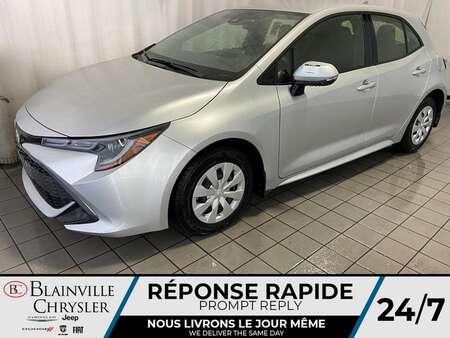 2019 Toyota Corolla Hatchback SE * AUTOMATIQUE * BLUETOOTH * A/C * GPS * CRUISE for Sale  - BC-P1627  - Desmeules Chrysler