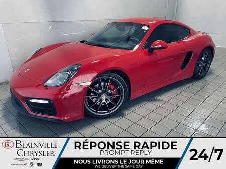 2015 Porsche Cayman GTS *  SIEGES CHAUFFANT * MODE SPORT * WOW ! * for Sale  - BC-S2194A  - Blainville Chrysler