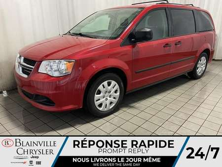 2016 Dodge Grand Caravan SE * STOW ' N GO * BLUETOOTH * ECO MODE * CRUISE for Sale  - BC-90027B  - Desmeules Chrysler