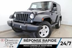 2018 Jeep Wrangler JK SPORT 4X4 * TOIT RIGIDE * AIR CLIMATISE * CRUISE *  - DC-R2835  - Desmeules Chrysler