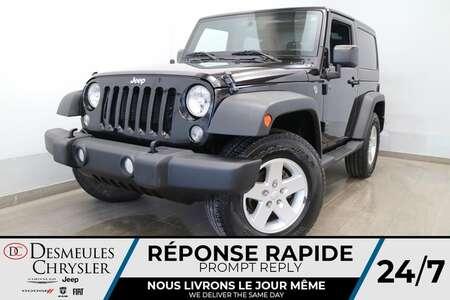 2018 Jeep Wrangler JK SPORT 4X4 * TOIT RIGIDE * AIR CLIMATISE * CRUISE * for Sale  - DC-R2835  - Blainville Chrysler