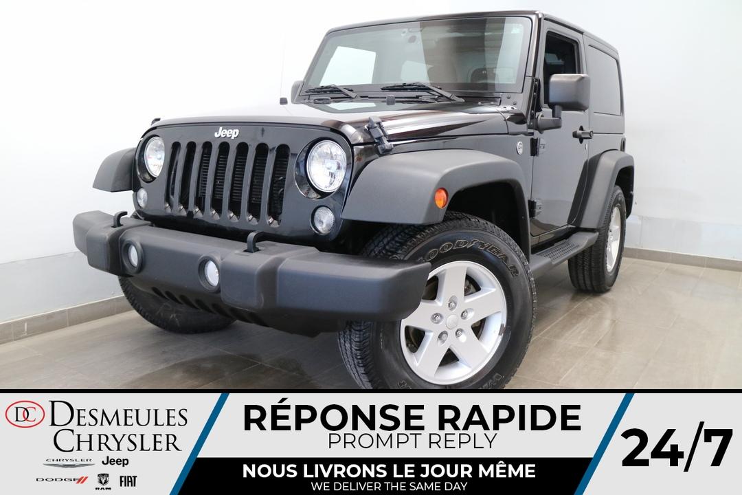 2018 Jeep Wrangler JK  - Blainville Chrysler
