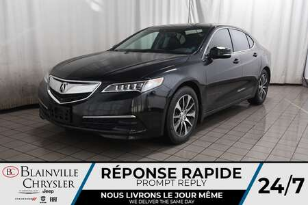 2016 Acura TLX 2.4L * NAVIGATION * CAMERA RECUL * TOIT OUVRANT * for Sale  - BC-C1769  - Desmeules Chrysler