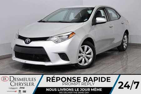 2014 Toyota Corolla LE + bancs chauff + bluetooth + a/c for Sale  - DC-L2061  - Desmeules Chrysler