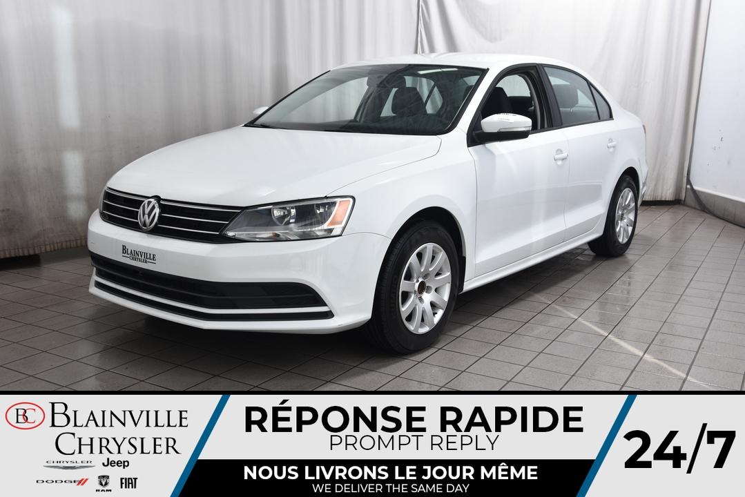 2015 Volkswagen Jetta  - Desmeules Chrysler