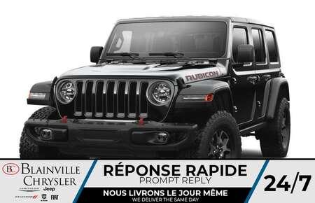 2021 Jeep Wrangler Unlimited Rubicon 2L TURBO *  RÉSERVEZ-LE * for Sale  - BC-C 47500382  - Desmeules Chrysler