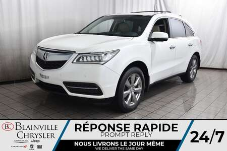 2014 Acura MDX ELITE * CRUISE ADAPTATIF * CUIR * DVD * GPS * for Sale  - BC-P1817  - Desmeules Chrysler
