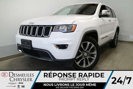 2018 Jeep Grand Cherokee LIMITED AWD * NAVIGATION * UCONNECT 8.4 PO * CUIR for Sale  - DC-U2667  - Desmeules Chrysler