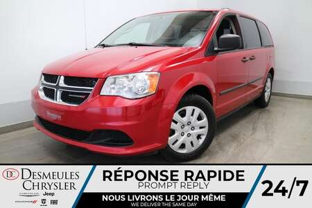 2014 Dodge Grand Caravan VALUE PACKAGE * AIR CLIMATISE * CRUISE * for Sale  - DC-S2852  - Desmeules Chrysler