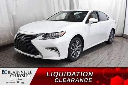 2017 Lexus ES 300h * SIEGES CHAUFFANTS ET VENTILES * GPS * for Sale  - BC-P1818  - Blainville Chrysler