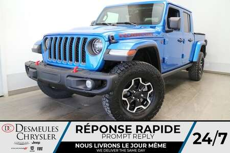 2021 Jeep Gladiator Rubicon 4X4 * NAVIGATION * UCONNECT 8.4 PO * CAM * for Sale  - DC-21773  - Blainville Chrysler