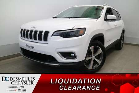 2019 Jeep Cherokee Limited 4X4 * UCONNECT 8.4 PO * CAM RECUL * CUIR * for Sale  - DC-21794A  - Blainville Chrysler