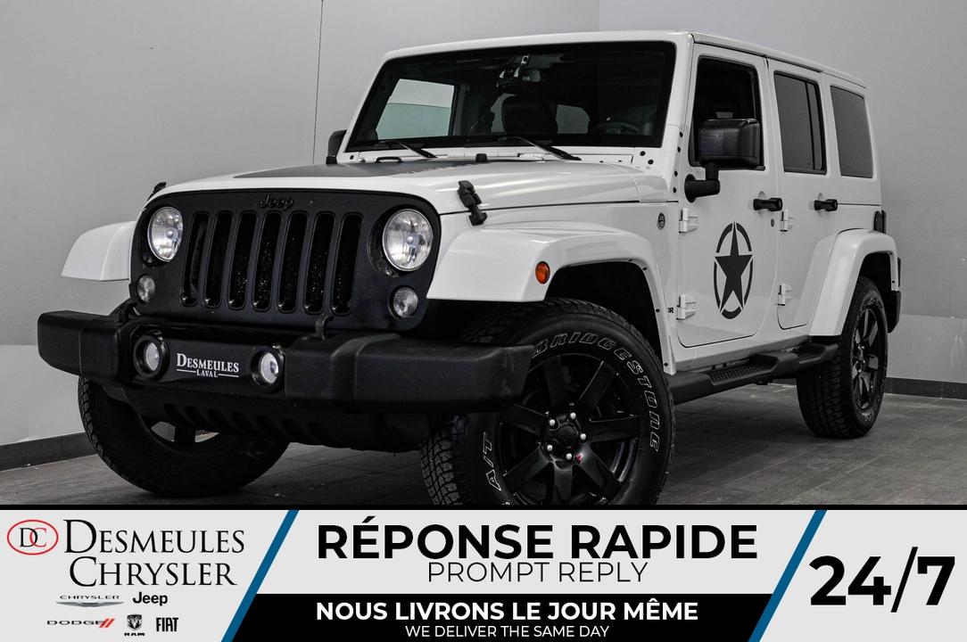 2014 Jeep Wrangler  - Desmeules Chrysler