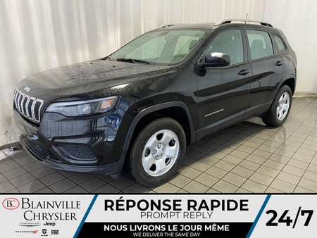 2019 Jeep Cherokee SPORT * V6 3.2L * 4X4 * CAMERA RECUL * BLUETOOTH for Sale  - BC-90044  - Desmeules Chrysler