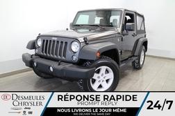 2018 Jeep Wrangler JK FREEDOM EDITION SPORT 4X4 * TOIT SOUPLE *  - DC-U2431  - Desmeules Chrysler