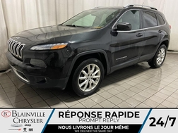 2016 Jeep Cherokee 4WD * GPS * CAM RECUL * 4 SIEGES CHAUFFANTS *  - BC-20584A  - Blainville Chrysler