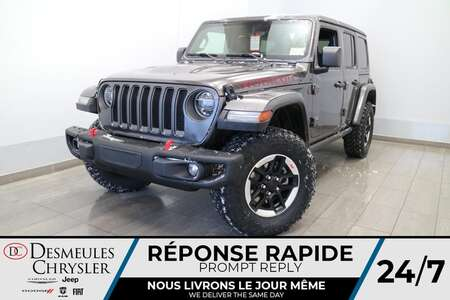 2021 Jeep Wrangler UNLIMITED RUBICON 4X4 * NAVIGATION * CAMERA * for Sale  - DC-21349  - Desmeules Chrysler
