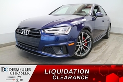 2019 Audi S4 Progressiv AWD * NAVIGATION * TOIT OUVRANT * CUIR  - DC-E2934  - Desmeules Chrysler