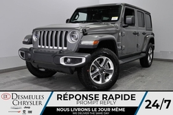 2020 Jeep Wrangler Sahara + BANCS CHAUFF + UCONNECT *143$/SEM  - DC-20350  - Desmeules Chrysler