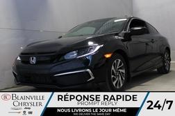 2019 Honda Civic Coupe LX * MANUELLE * SIEGE CHAUFFANTS * APPLE CARPLAY  - BC-21678A  - Desmeules Chrysler