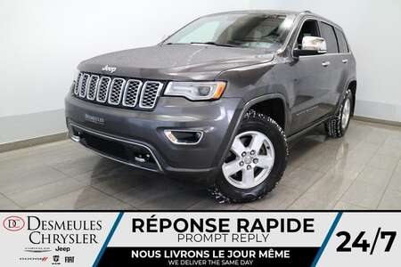 2017 Jeep Grand Cherokee Overland AWD * NAVIGATION * TOIT OUVRANT * CUIR * for Sale  - DC-U2446  - Desmeules Chrysler
